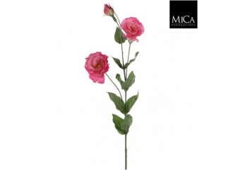 "Floare artificiala ""Lisianthus"" Pink L80 D14cm,1 buc"