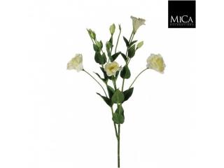 "Buchet artificial ""Lisianthus"" Cream L81 D25cm,1 buc"