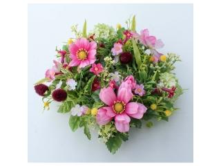 """Coronita """"Cosmos snowball rose"""" (M) Pink, 1 buc"""