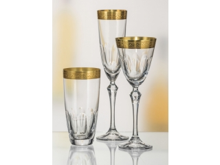 "Set pahare pentru apa ""Elisabeth"" 350 ml, 6 buc"