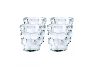 """Bubbles"" Set pahare pt whisky, 4 buc"
