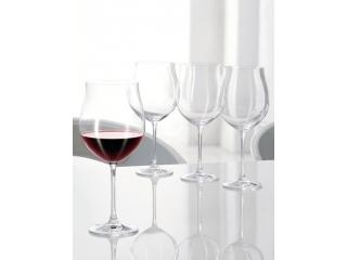 """Vivendi"" Set pocale pt vin rosu, 4 buc"