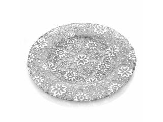 """Arabesque"" Platou, Silver Leaf, 32 cm, 1 buc"
