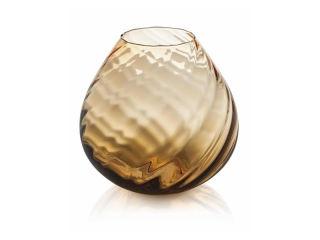 """Nuvola"" Vaza, Chihlimbar, 26 cm, 1 buc"