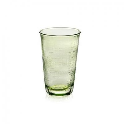 """Denim"" Set 6 pahare pentru apa, Green, 6 pcs, Pahare ,"