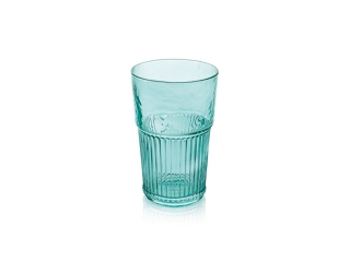 """Industrial Chic"" Set 6 pahare p/u apa, Turquoise, 480 ml, 1 set"