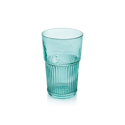 """Industrial Chic"" Set 6 pahare p/u apa, Turquoise, 480 ml, 1 set, Pahare ,"