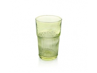"""Industrial Chic"" Set 6 pahare p/u apa, Green, 480 ml, 1 set"