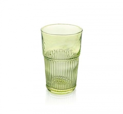"""Industrial Chic"" Set 6 pahare p/u apa, Green, 480 ml, 1 set, Pahare ,"