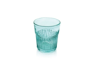 """Industrial Chic"" Set 6 pahare, Turquoise, 280 ml, 1 set"