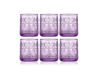 """Vitaminic"" Set 6 pahare, Purple, 300 ml, 1 set"