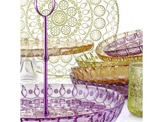"""Vitaminic"" Fructiera, Purple, 29 cm, 1 buc"