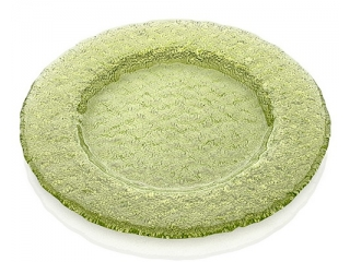 """""""Tricot"""" Platou, Green, 32,5 cm, 1 buc"""