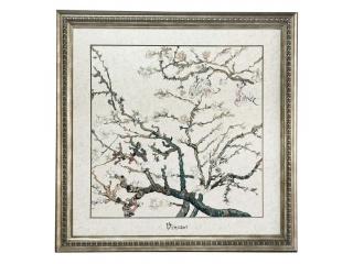 """Tablou """"Almond Tree Silver"""", 68*68 cm, 1 buc"""