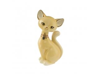 "Figurina Pisica ""Creme Smoke Burma"", 18 cm, 1 buc"