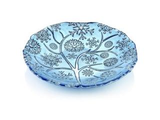 """Fiocco di Neve"" Platou, Blue, 36 cm, 1 buc"