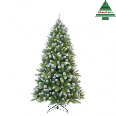 "Brad ""Empress"" , h215xd119cm, green frosted TIPS 1024, 1 buc., Brazi artificiali,"