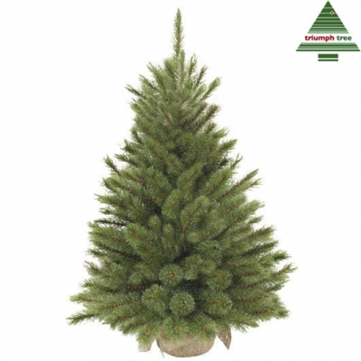 "Brad ""Forest frosted"", h45xd36cm, green TIPS 61 in pinza de sac, 1 buc., Brazi artificiali,"