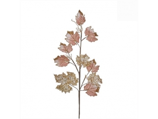 "Ramura ""Maple"", l61*h21, Pink, 1pcs"