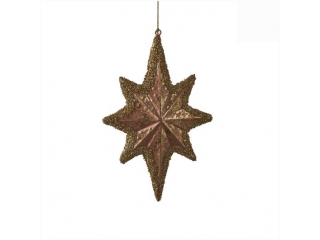 "Ornament ""Star"", Pink, l26*h2cm, 1 buc"