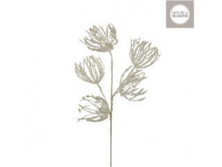 "Ramura""Spray flower"", l82cm, White, 1pcs"