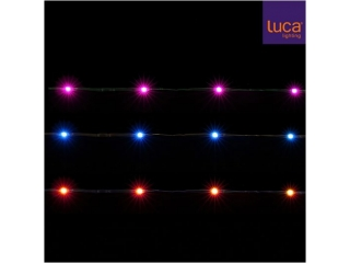 "Ghirlanda ""String"", 50LED, multicolor, 8 functii, 1 pcs"