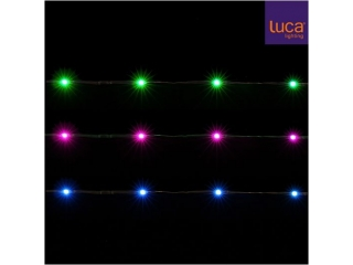 "Ghirlanda ""String"", 100LED, multicolor, 8 functii, 1 pcs"