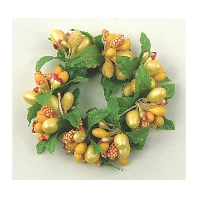"Coronita ""Berry"" (S) Yellow, 1 buc, Coronite  artificiale,"