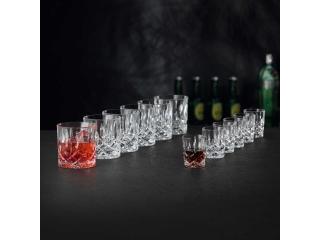 """""""Noblesse"""" Set 6 pahare pt whisky + 6 shot-uri, 12 buc"""