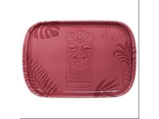 """Aztek PINK"" Platou p/u steak, 30 cm, 1 buc"