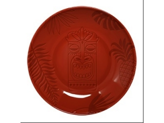 """Aztek RED"" Farfurie adâncă , 26 cm, 1 buc"