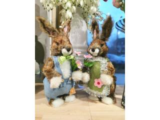 Easter greetings Decor iepuras (ea) ,17x14x55 cm,  1 pcs