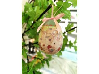 Happy Easter Oua de Paste in cutie,28x7,5x11 cm ,4 pcs