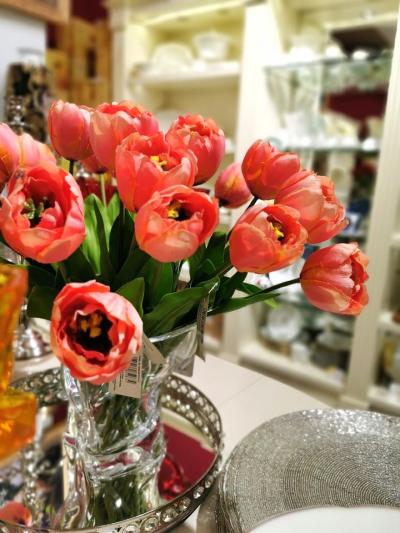 """Floare artificiala """"tulipano """" h43cm,1 buc., Flori artificiale,"""