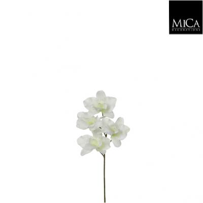 """Floare artificiala """"Phalaenopsis"""" Cream  H26 cm, 1 buc., Flori si coronite artificiale ,"""
