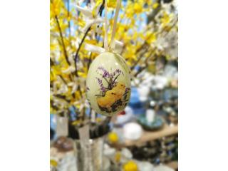 Easter greetings Oua de Paste in cutie, 5x5x7 cm, box 24x17x5 cm