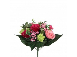 """Buchet  """"Rose"""" Bordeaux"""