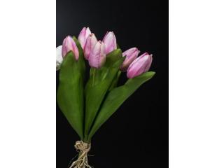 """Floare artificiala """"tulipano """" h27cm,1 buc."""