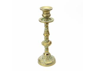 """HT/ Candelabru din aluminiu """"ANTIQUE GOLD"""", 5*9*26 cm, 1 buc"""