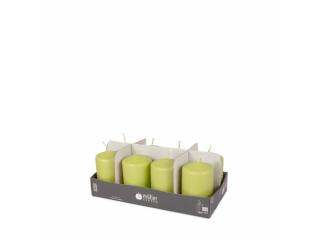"Set lumânări - pilon ""Green"" 8 bucați 120/60 mm, 8 buc"
