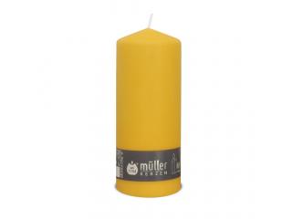 "Lumânare - pilon "" Yellow "" 200/80 mm, 1 buc"