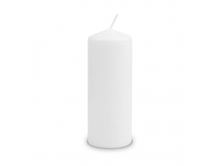 "Lumânare - pilon "" White "" 200/80 mm, 1 buc"