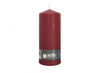 "Lumânare - pilon "" Dark Red ""  200/78 mm, 74h, 1 buc"