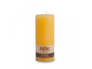 "Lumânare - pilon seria "" Polar Yellow ""  160/68 mm, 1 buc"