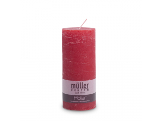 "Lumânare - pilon seria "" Polar Red "" 160/68 mm, 1 buc"