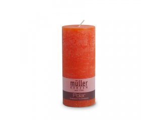 "Lumânare - pilon seria "" Polar Mandarin ""160/68 mm, 1 buc"