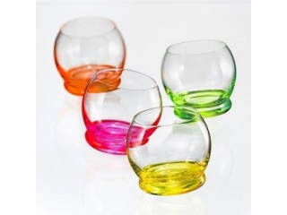 """NeonCrazy Mini"" Set pahare 60 ml, 4 pcs."