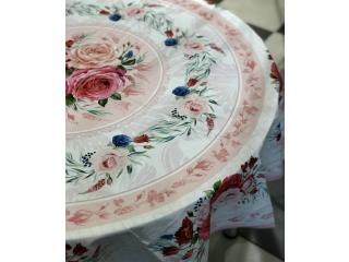 """Față de masă """"ROSE ROUND"""" D 178 cm."""