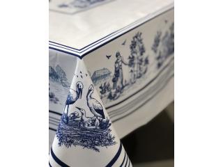 """Față de masă """"VILLAGE BLUE"""" 144x180 cm"""