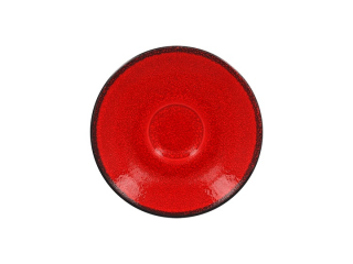 """""""Fire Red"""" Farfurioara pu cana de cafea. 13cm,,1buc."""